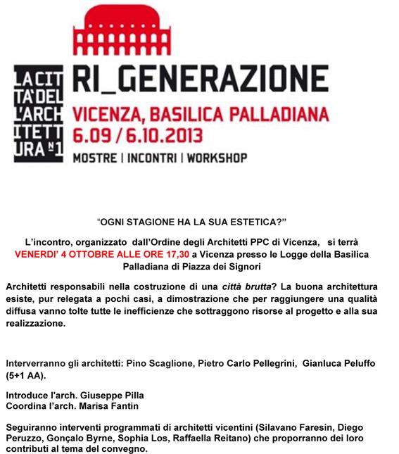 Programma Convegno Vicenza